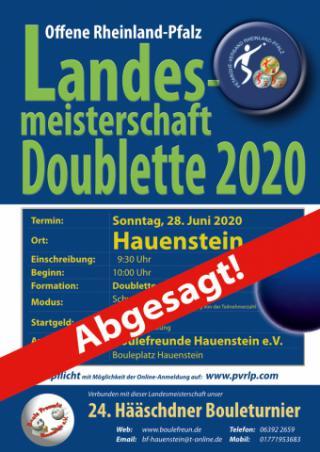 2020 LMDoublette Absage web