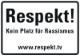 Schild Respekt web 80